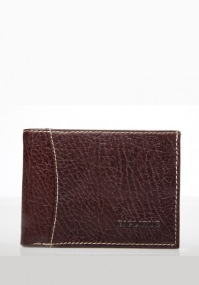 BILLETERA 207 MARRON PIEL