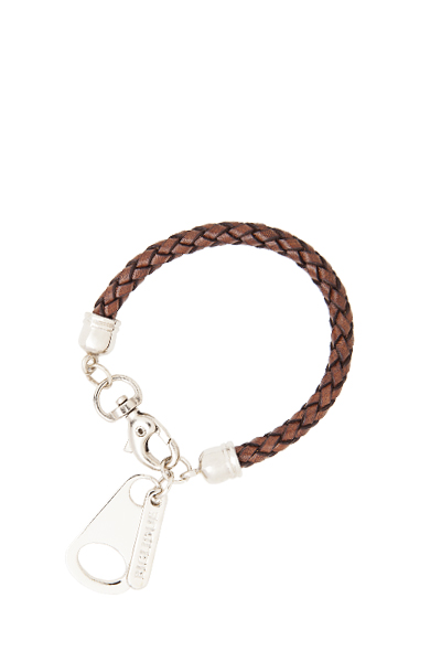 PULSERA ZIPPER marron catalogo